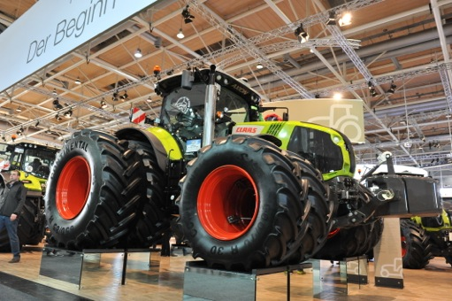 Claas makes a big impression in 2013