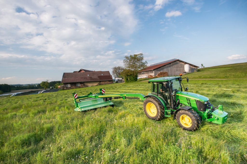 New John Deere 630 mower-conditioner