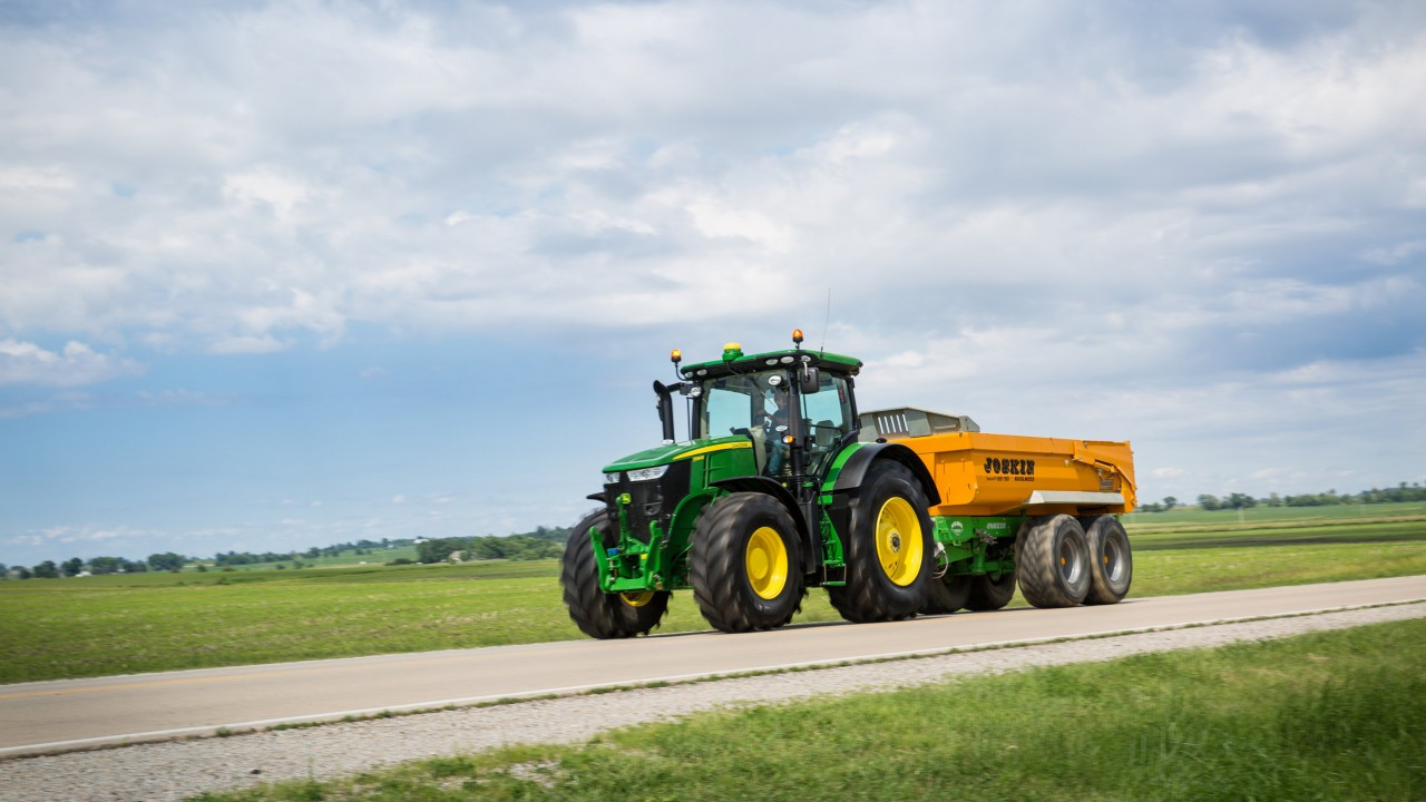 Secure your farm machinery with tracking devices
