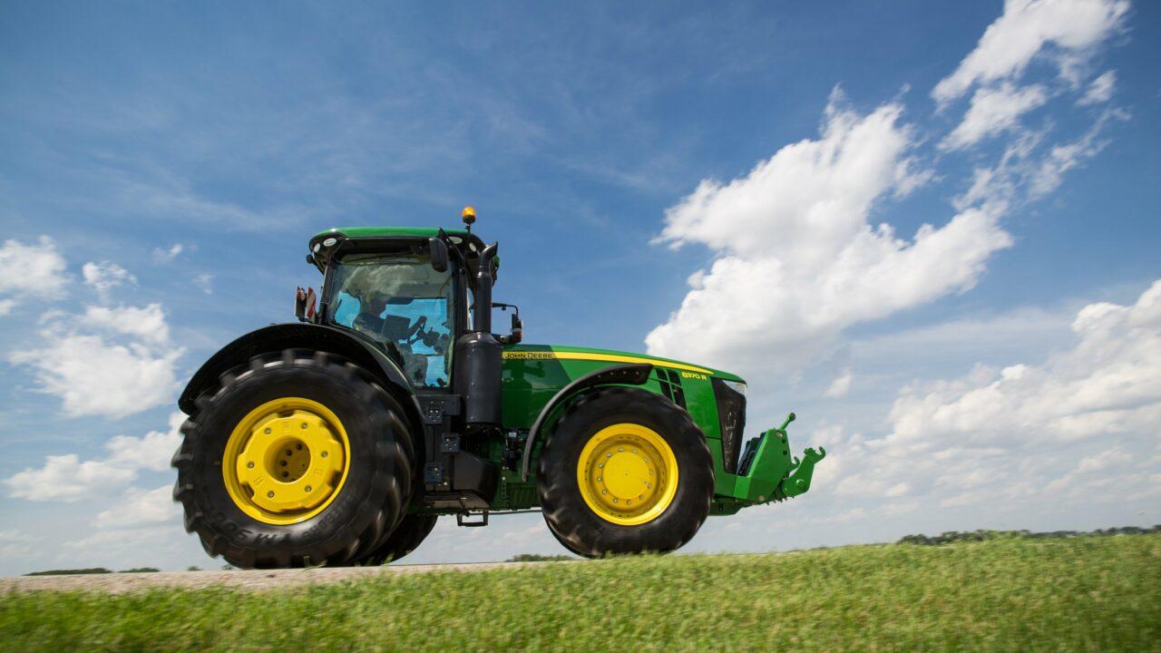 New John Deere tractors 2014