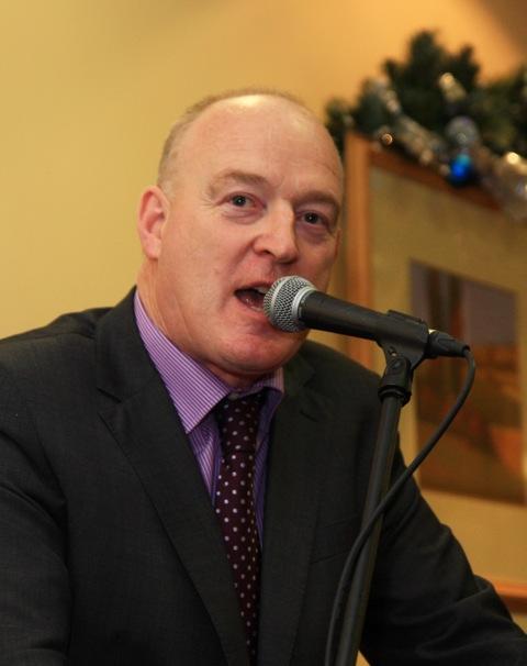 Patrick Kent, president of the ICSA