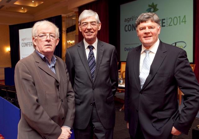 Colm McCarthy speaks at food conference