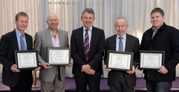 UFU recognises top cereal growers of 2013