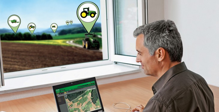 John Deere at Precision Farming 2014