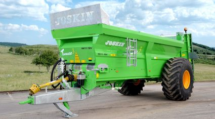 Joskin adds new model to Tornado3 muck spreader range