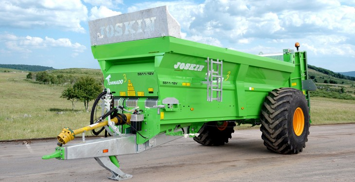 Joskin adds new model to Tornado3 muck spreader range