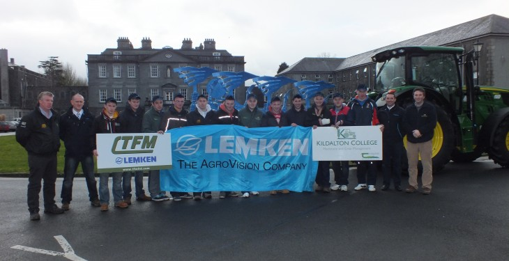 Lemken ploughs up with Kildalton