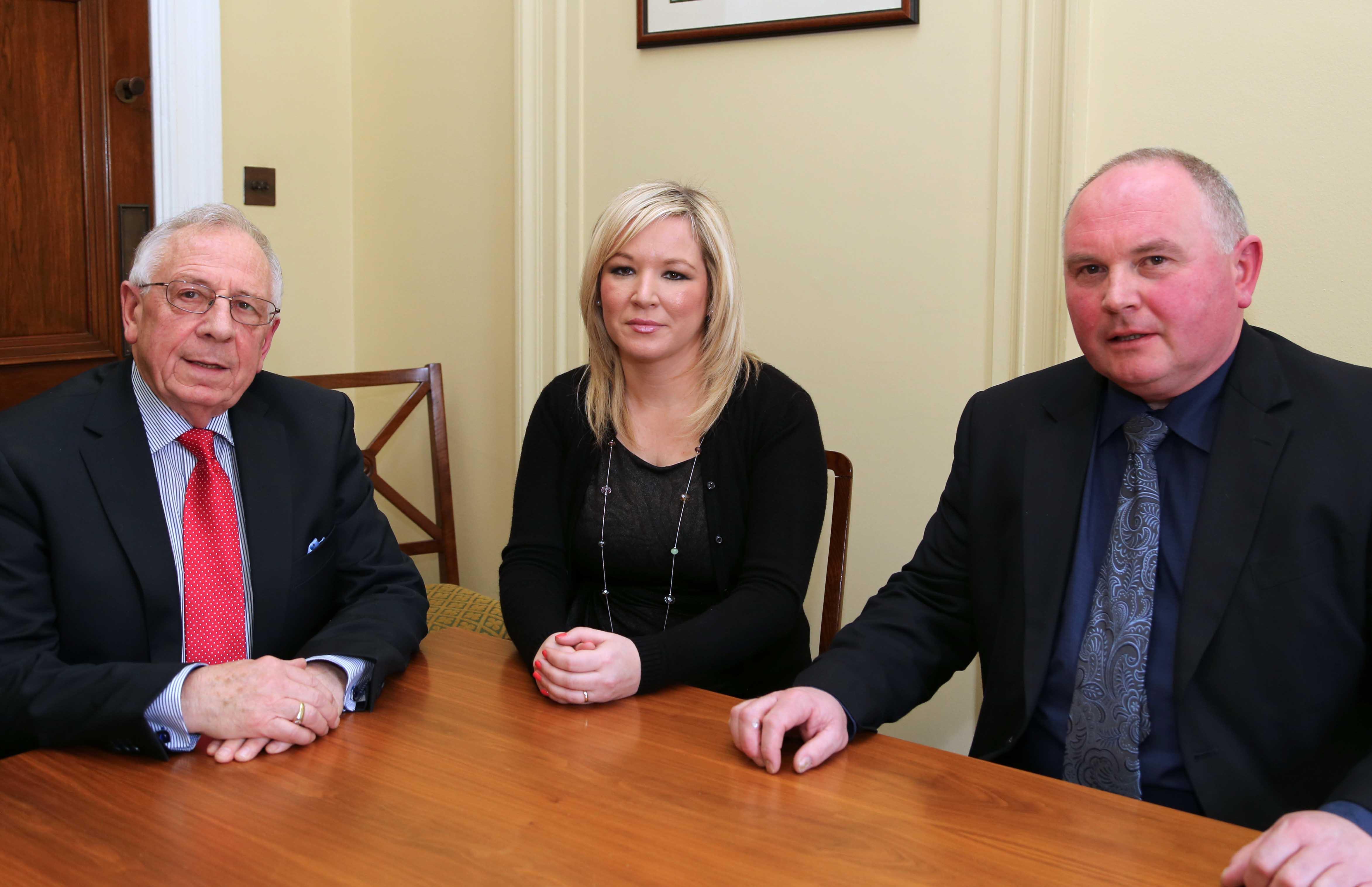 Minister O'Neill meets with NIMEA