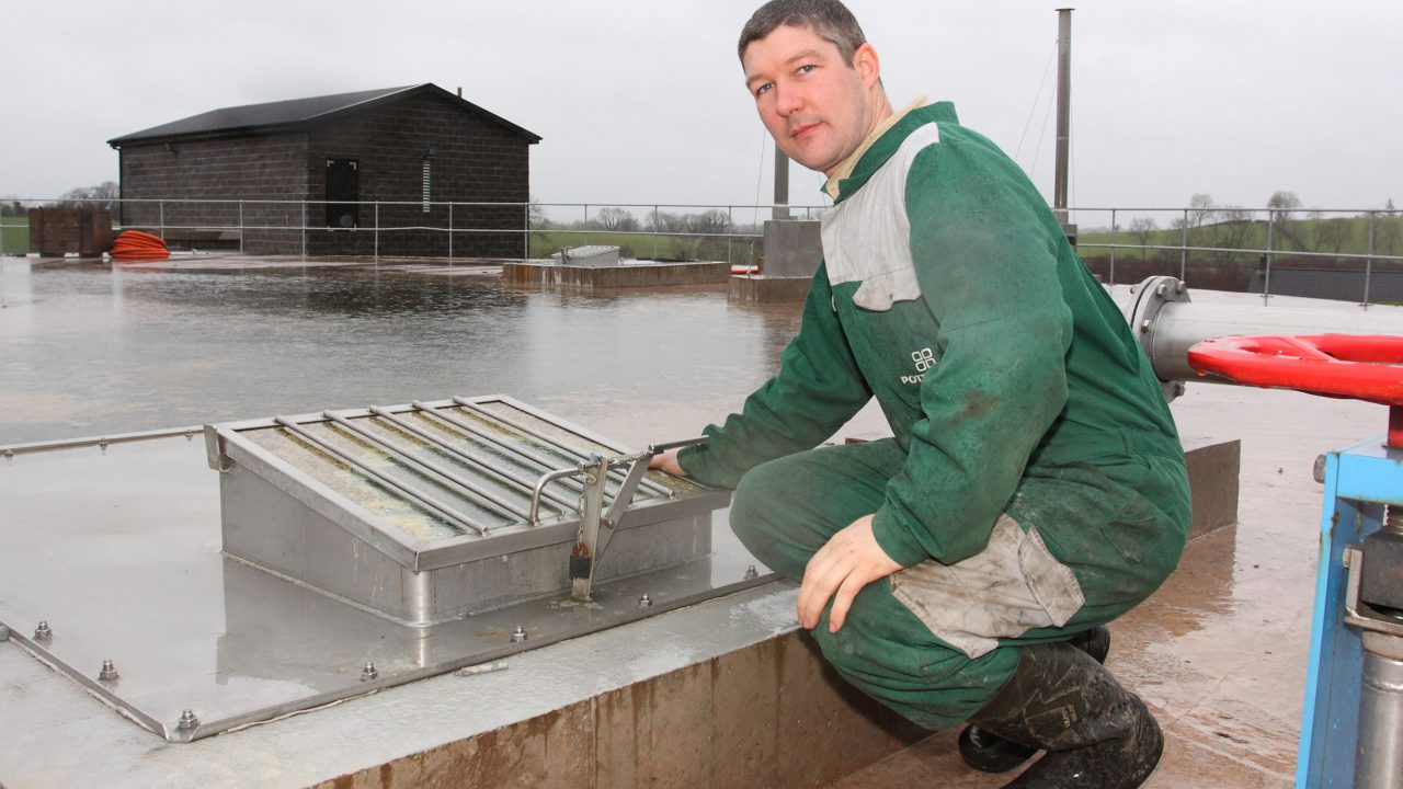 First year of biogas production at Holly Park Farm