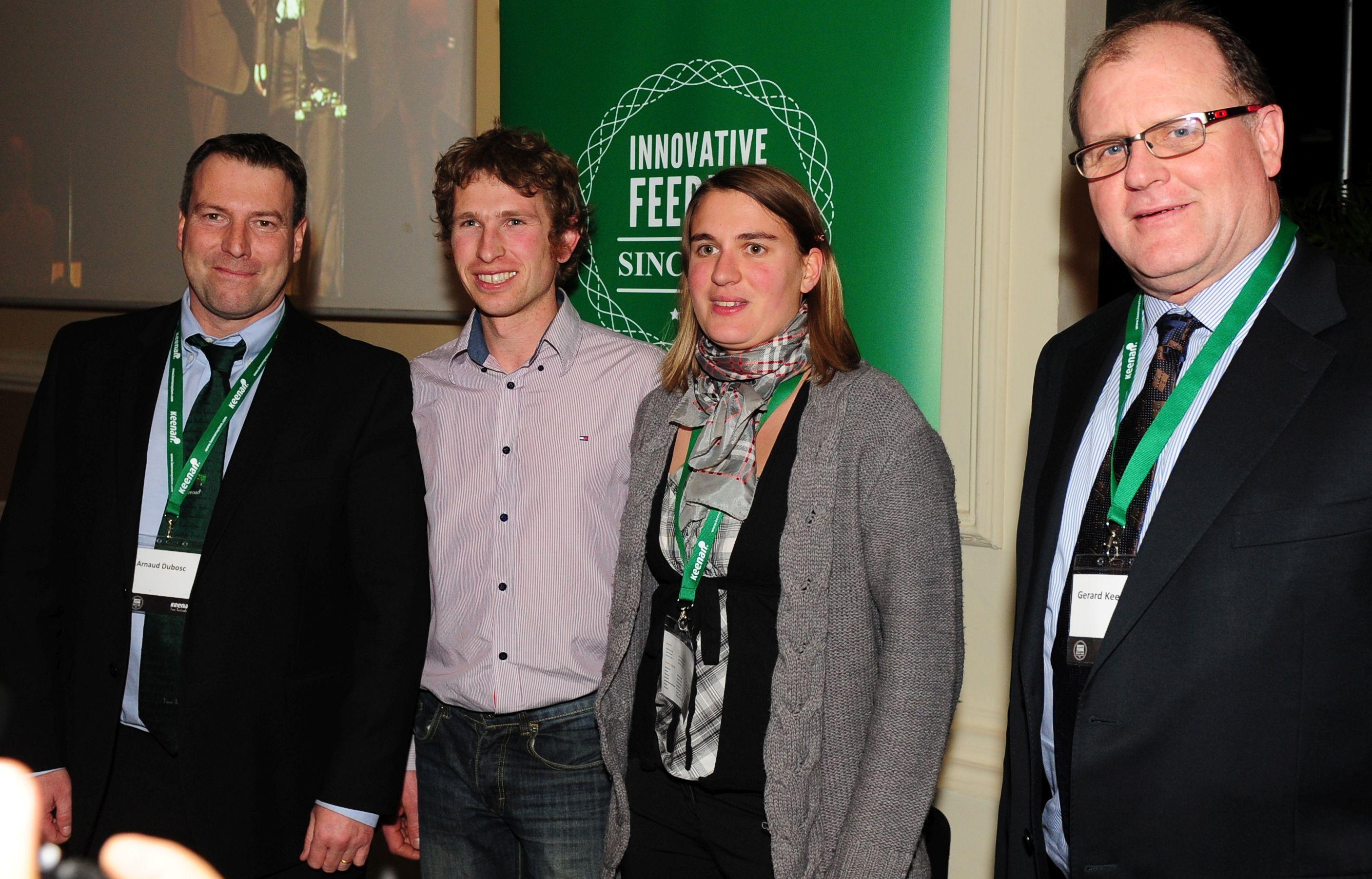 """French Dairy Farmers Win Keenan""""Gold"""" Mixer Wagon"""
