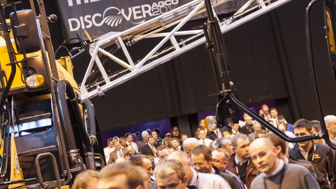 Discover AGCO draws a 7,000 strong crowd