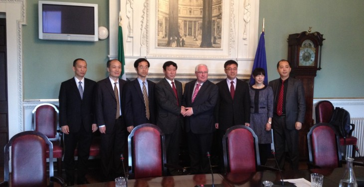 Smith Raises Ban on Irish Beef with Chinese Delegation