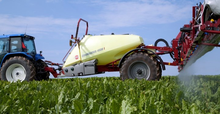 Hardi sprayer gets top results