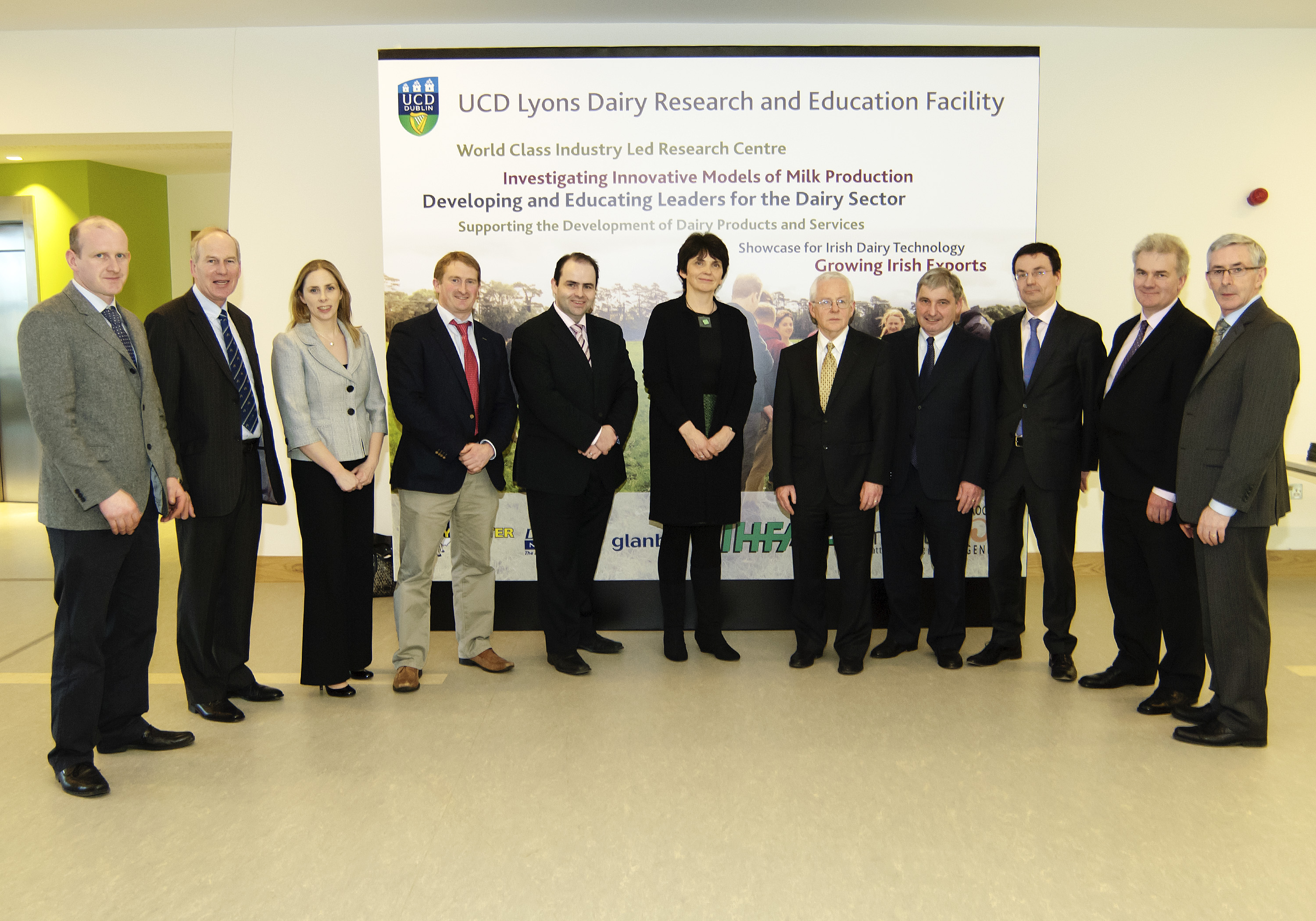 Launch of UCD Lyons Dairy Research and Teaching Unit in the Science Centre