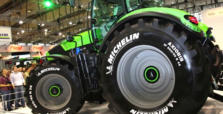 Michelin releases world's largest tractor tyre