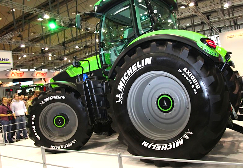 Michelin releases world 39 s largest tractor tyre agriland for Big tractor tires for free