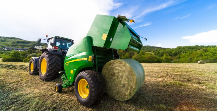John Deere to feature new balers and mower at Grass & Muck event