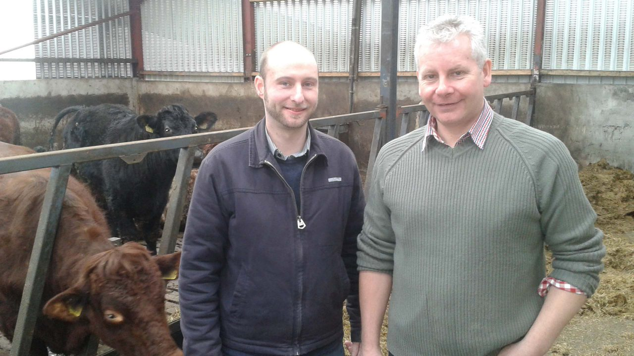 Hands-on learning with Glenarm Shorthorn Beef