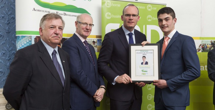 Winner of Teagasc/FBD Student of the Year Award announced