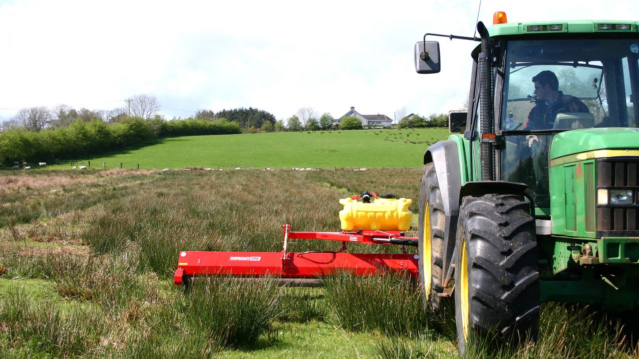 Blaney Agri to launch new offset weed licker