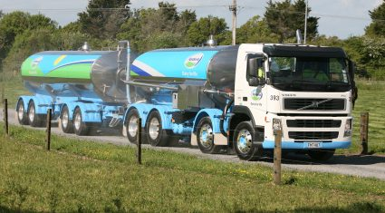 Kiwi milk production slumped 6% in February