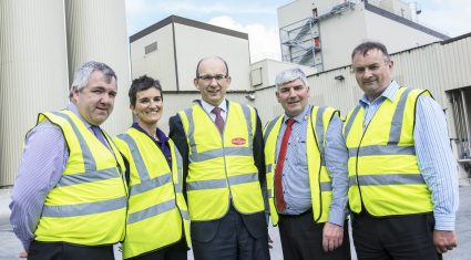 First milk flows at new Dairygold facility