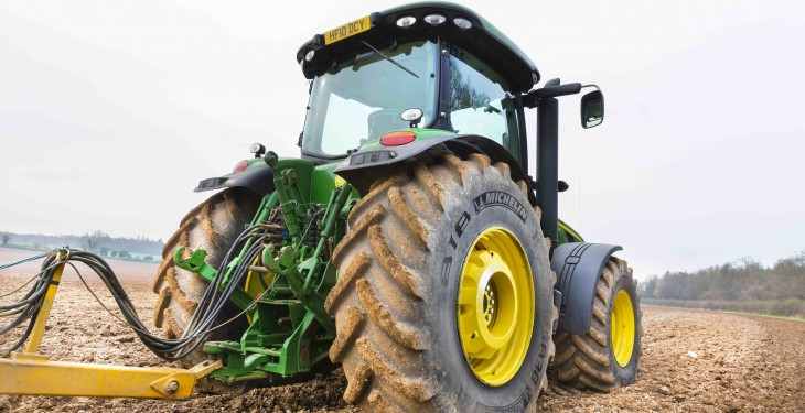 Will farmers face a new charge when buying tyres?