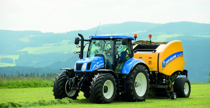 High tech joins historic at New Holland's Grass and Muck stand