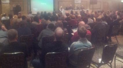 Big crowd attending Teagasc's collaborative farming conference