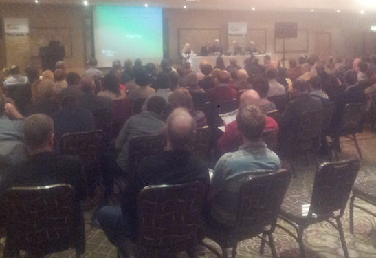 Big crowd attending Teagasc's collaborative farming conference