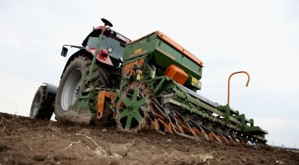 Broken weather delaying field operations on tillage farms