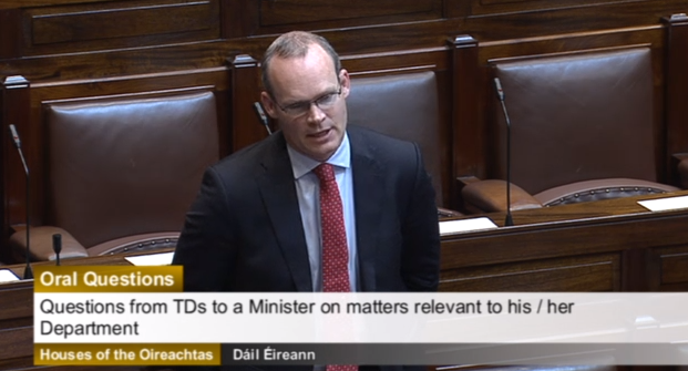Coveney to raise dairy sector issues in Brussels