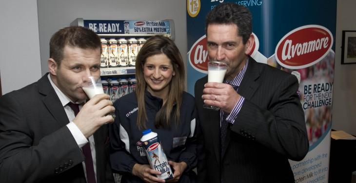Glanbia launches protein milk