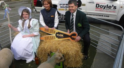 Kiwi sheep shearing legend David Fagan set for Gorey