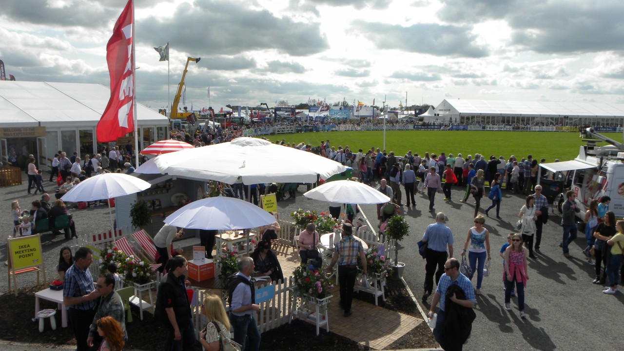 How to plan the best route to the 2016 Balmoral Show