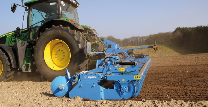 Lemken power harrow to get new design