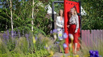 Glanbia supports Barretstown with Bloom garden