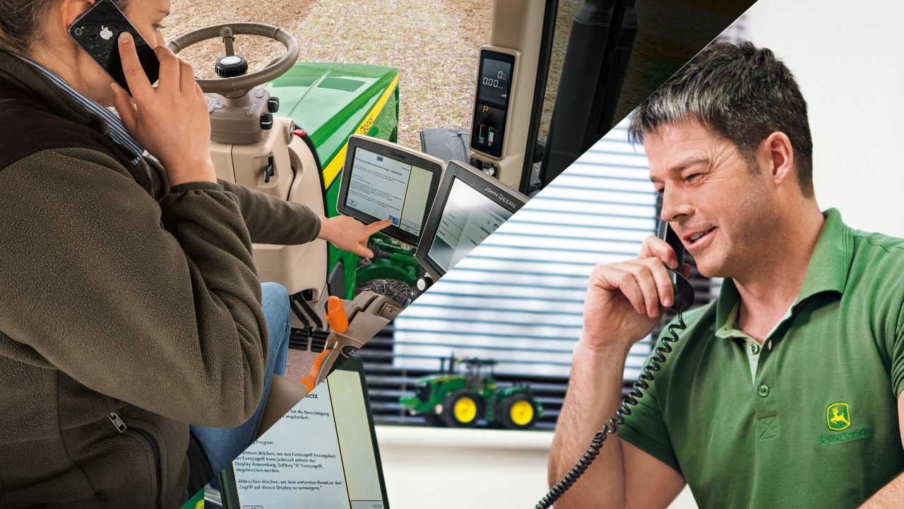 John Deere Remote Display Access now activated