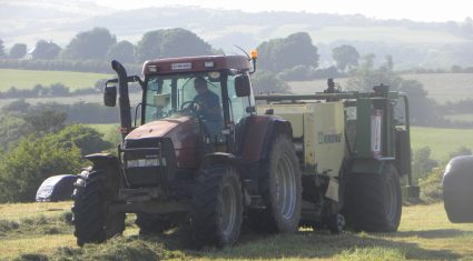 Farmers focus on silage