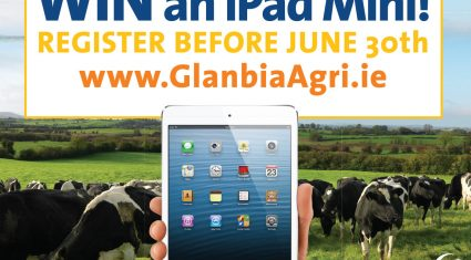 Win an ipad with Glanbia