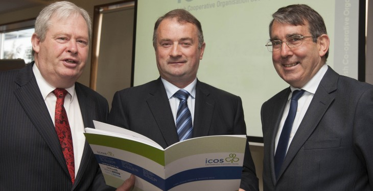 Bertie O'Leary and Martin Keane re-elected President and Vice-President of ICOS