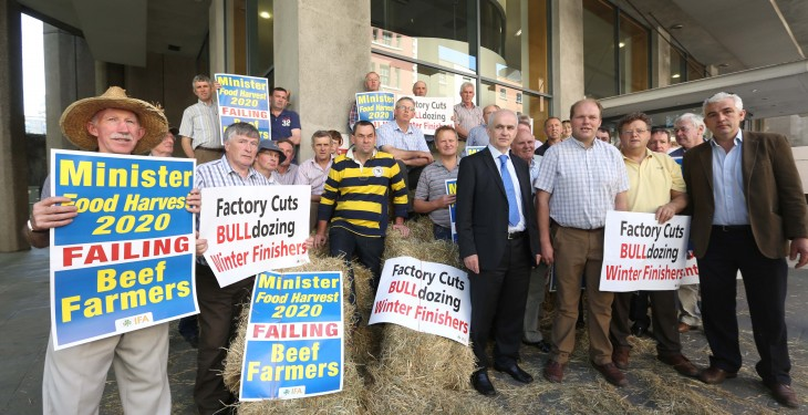 IFA protest a meagre attempt to represent farmers
