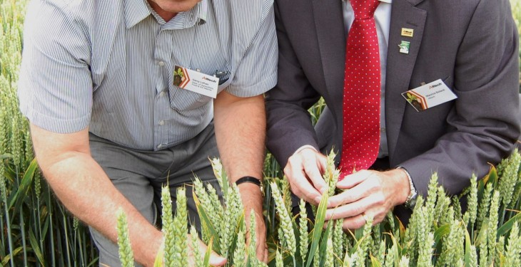 Alltech hosts tour of new Crops Research Division