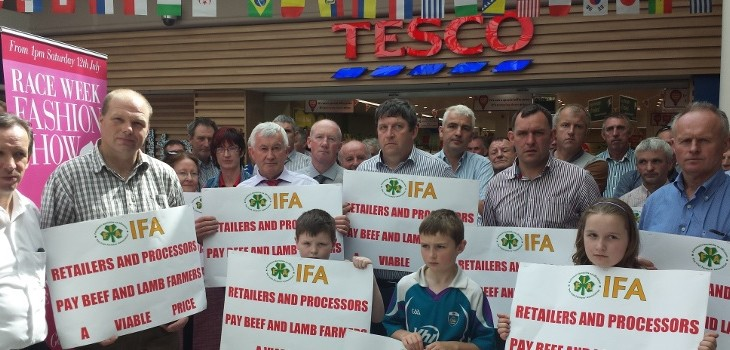 IFA to stage pickets at beef factories next week