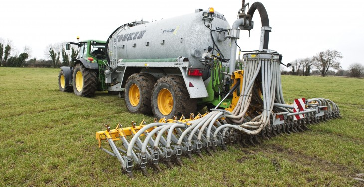 Cost-effective and environmentally friendly – keeping slurry ready to spread