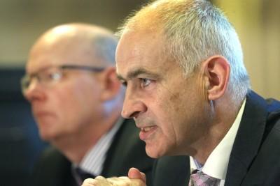 IFA President Eddie Downey