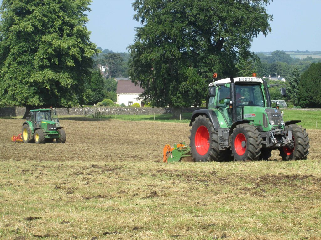 Now is an excellent time to consider reseeding as rain is forecast and there should be adequate time for the new sward to become established and grazed before autumn.