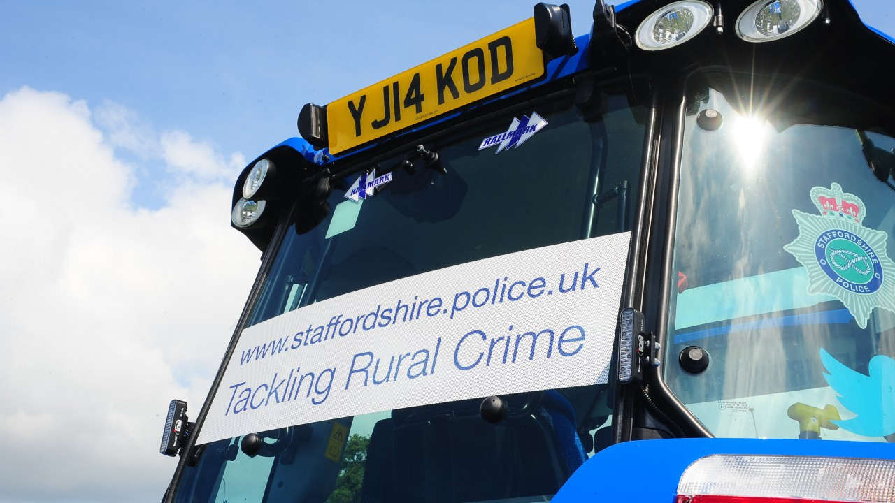 UK police to use tractor to fight rural crime