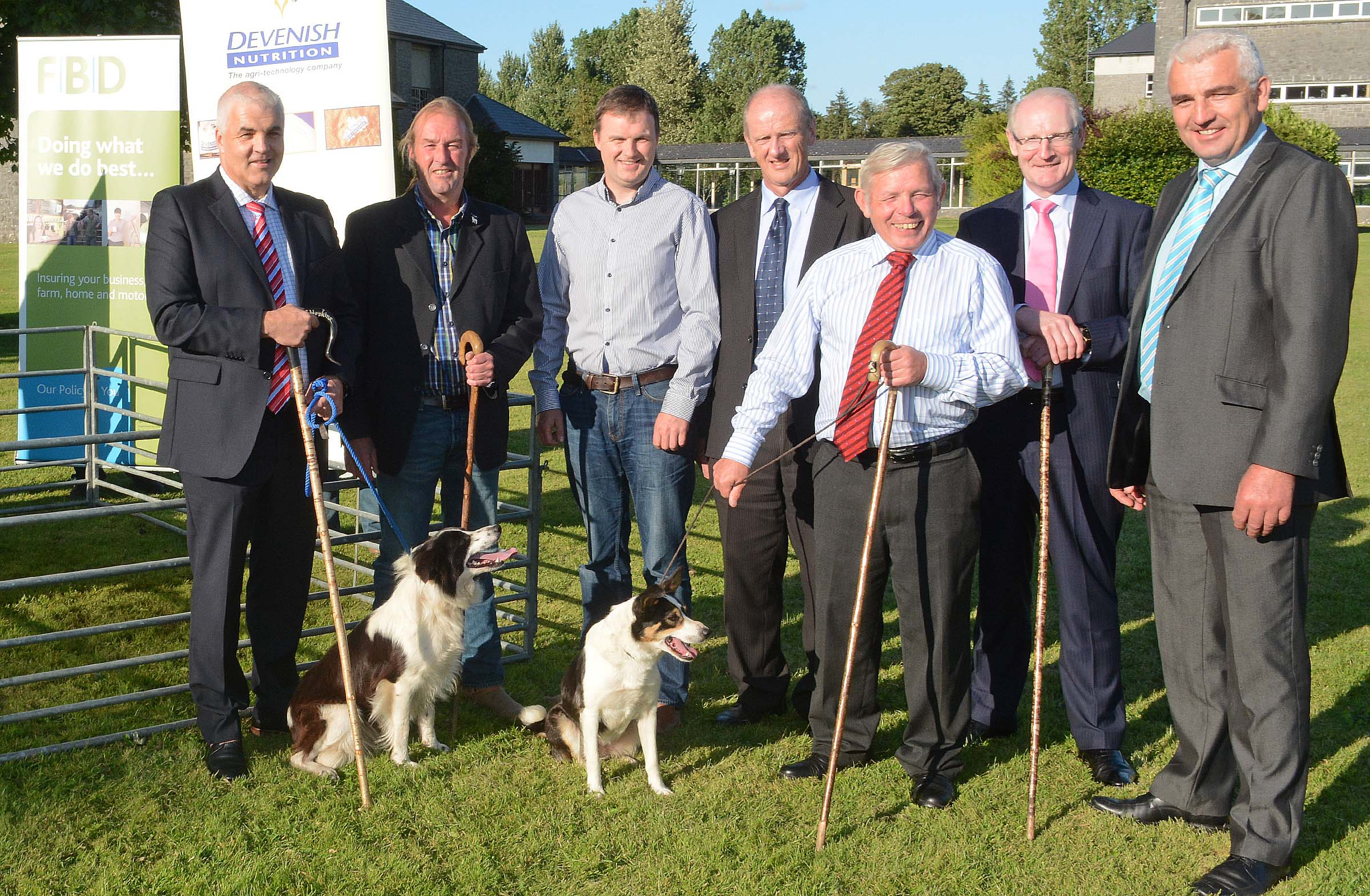 The launch of the International Sheepdog Trials.