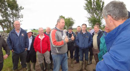 Fermanagh dairy farmers head south to study soil improvement
